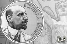 Dall'Istituto Poligrafico e Zecca dello Stato una moneta per il 150° della nascita di D'Annunzio